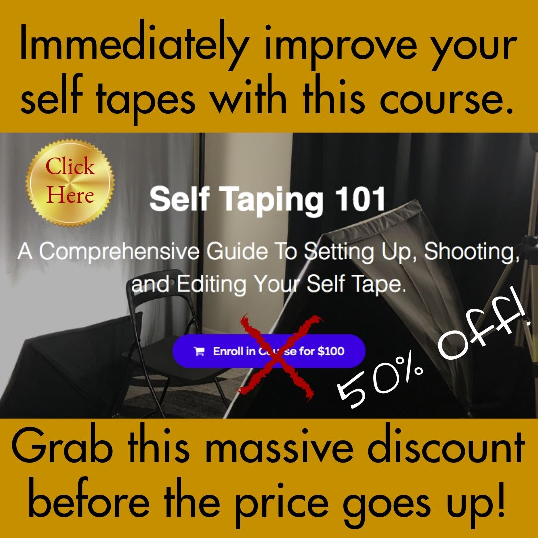 The 7 best acting self tape tools under $20! - Actor CEO