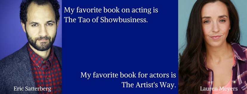 Eric Satterberg and Lauren Meyers on acting books