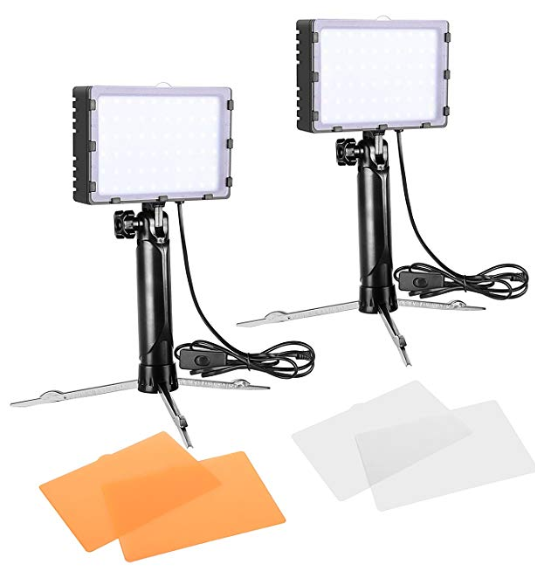 Emart 60 LED Continuous Portable Photography Lighting Kit ...