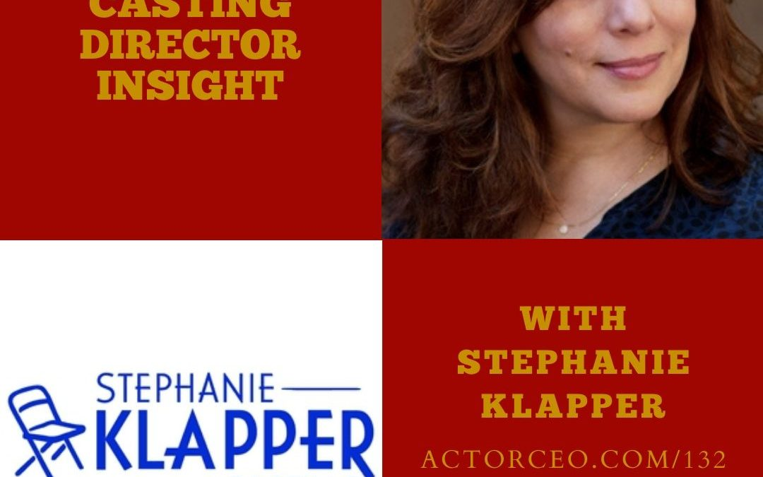 Casting Director Stephanie Klapper