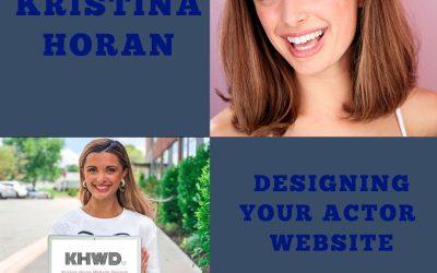 Actor Websites with Kristina Horan