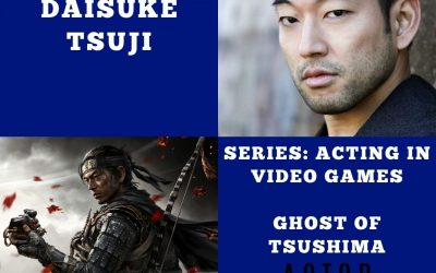 Acting in Video Games with Daisuke Tsuji of Ghost of Tsushima