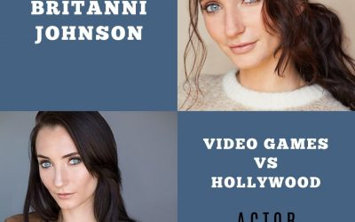 Britanni Johnson on Acting In Video Games