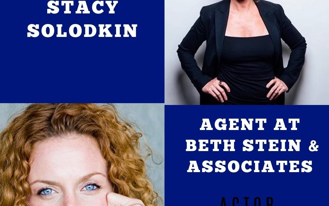 Agent Stacey Solodkin of Beth Stein Agency