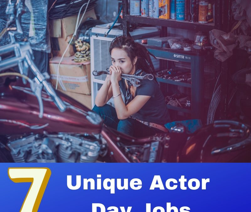 7 Unique Actor Day Jobs