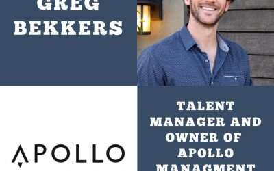 Talent Manager Greg Bekkers of Apollo Management