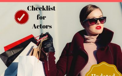 Black Friday Check List for Actors