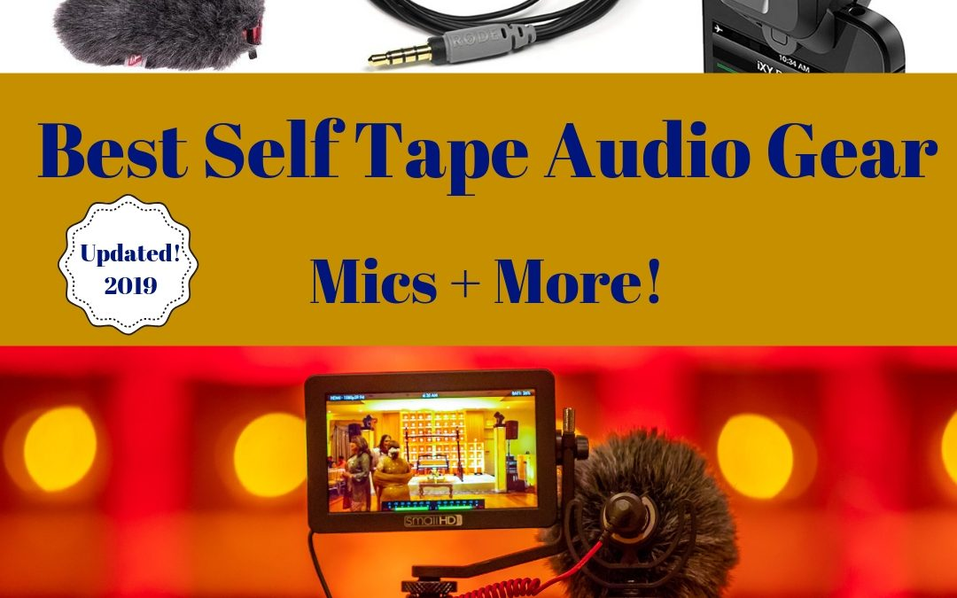The 6 Best Self Tape Audio Tools – Mics and More